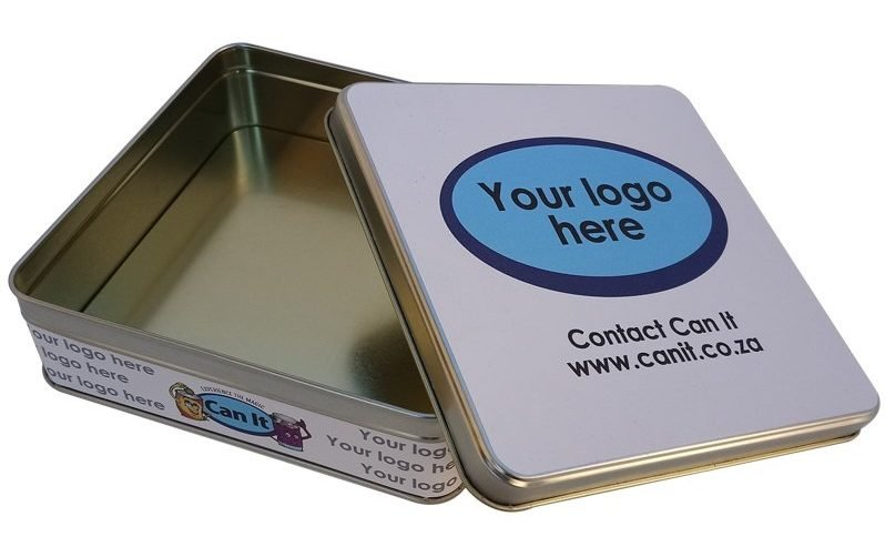 Custom Branded Tin Box