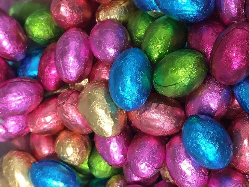 Custom Branded Chocolate Eastereggs