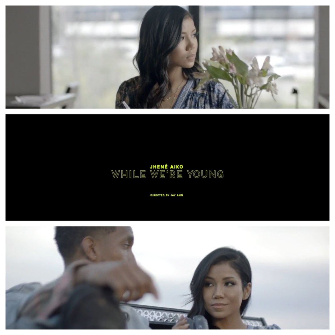 New Ish Jhene Aiko While Were Young Video