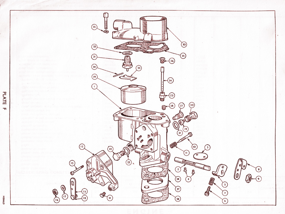 Fwd Engine Diagram Solex Carburettor Canley Classics