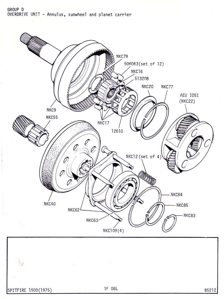 [DIAGRAM] Triumph Spitfire Overdrive Gearbox Wiring