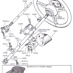 Steering Wheel Diagram How To Wire A Day Night Switch Assembly Wiring Schematic And Columns Canley Classics 1997 Ford Ranger Ordering Info