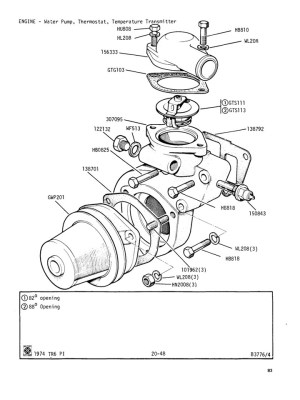 Water Pump, Thermostat, Temperature Transmitter @ Canley