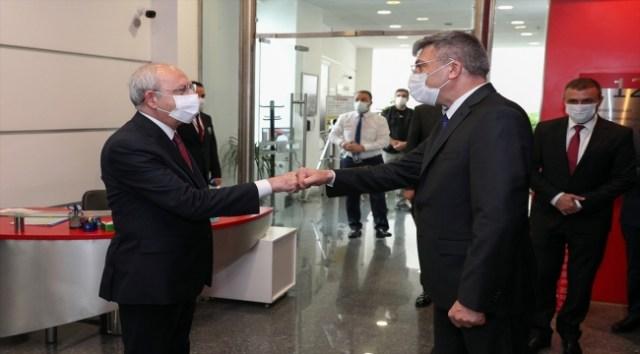 CHP Genel Başkanı Kılıçdaroğlu, Bulgaristan Hak ve Özgürlükler Hareketi Başkanı Karadayı'yı kabul etti - Politika - Kayseri Canlı Gaste
