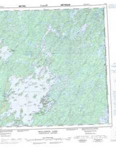 Printable wollaston lake topographic map  at scale also maps free online nts mb rh canmaps