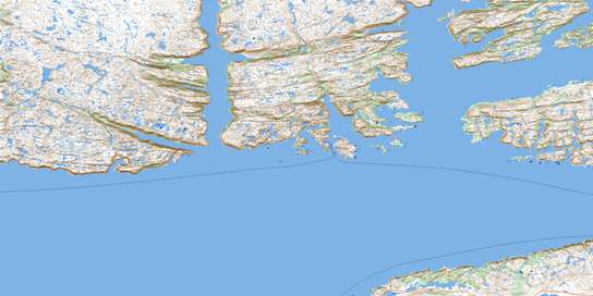 Maps Topsail Old Island
