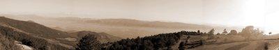 Bakacak köyünden Bakacak Panaroması