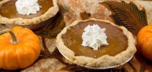Cannabis Infused Mini Pumpkin Pies