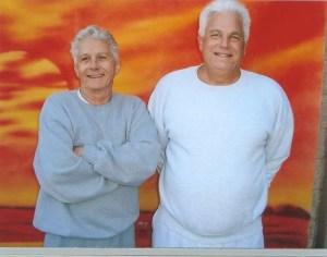 Life for Pot Prisoner Billy Dekle with his friend and former pot lifer Larry Duke (now released).