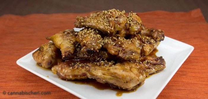 Marijuana Recipes - Honey Lime Chicken Wings