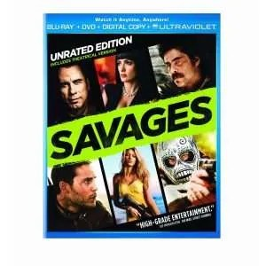 Marijuana Movies - Oliver Stone's Savages