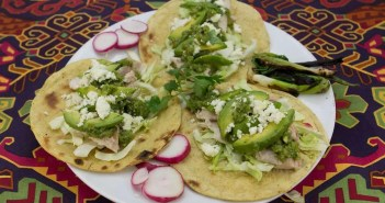Marijuana Recipes - Grilled Fish Tacos with Ganja Green Chile Salsa