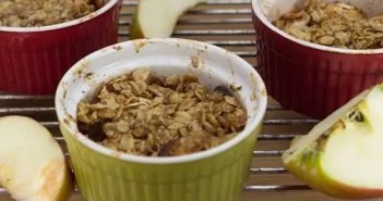 Marijuana Recipes - Vegan Apple Crisp