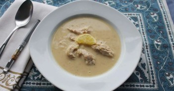 Marijuana Chicken Soup - Avgolemono