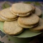 Marijuana Cookies - Lemon Haze Poppyseed Cookies with Cream Cheese Filling