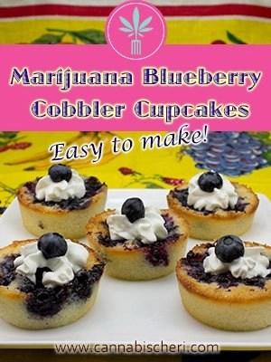 Marijuana Blueberry Cobbler