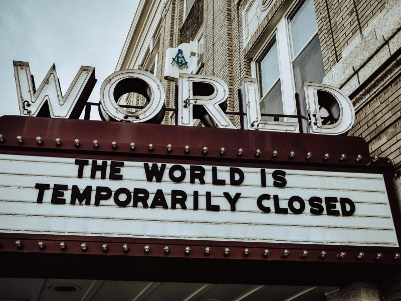 The World Is Temporarily Closed - Medical Cannabis - Cannabiz