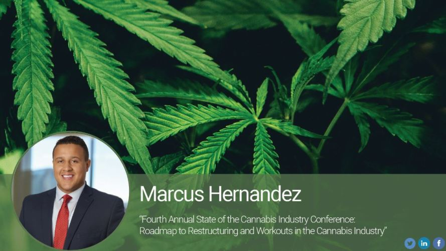 Part 2: Fourth Annual State of the Cannabis Industry Conference – Roadmap to Restructuring and Workouts in the Cannabis Industry