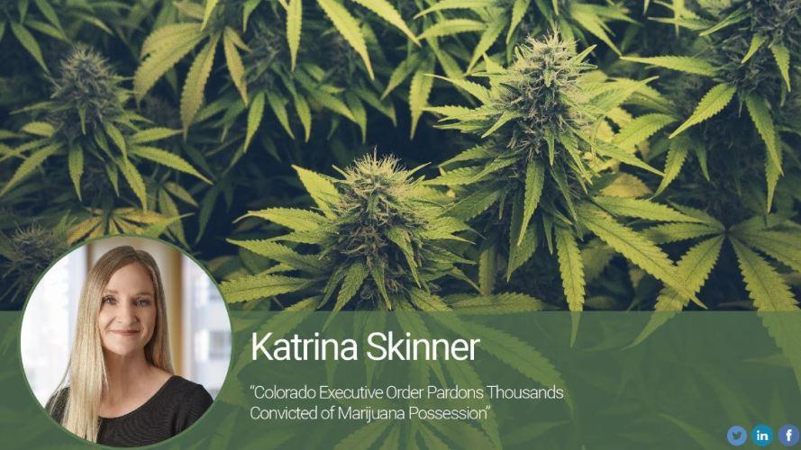 Colorado Executive Order Pardons Thousands Convicted of Marijuana Possession