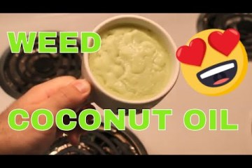 How to infuse coconut oil with MARIJUANA