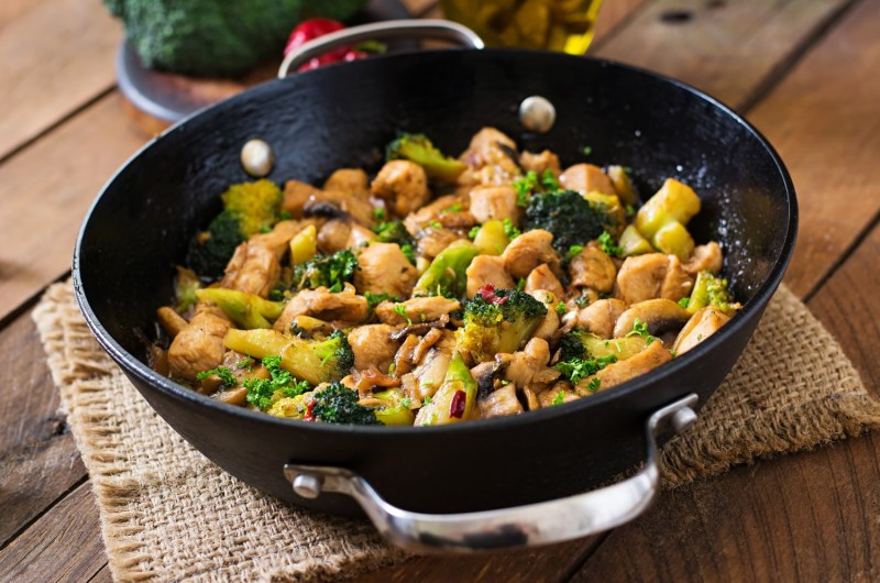 Cannabis Infused Honey Chicken Stir Fry