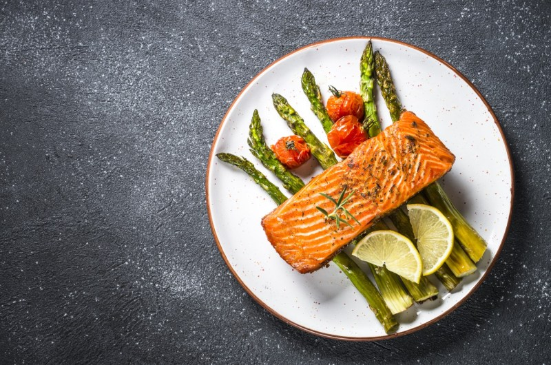 Cannabis Infused Garlic Butter Salmon