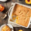 Easy Cannabis Infused Peach Cobbler