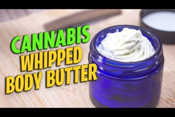 How to make Cannabis Whipped Body Butter