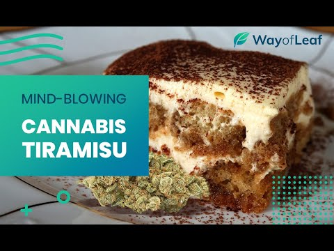 Video: Cannabis Tiramisu
