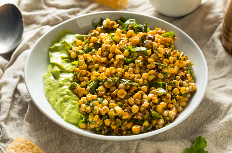 Cannabis Infused Mexican Street Corn