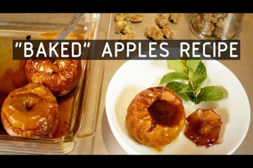 """Cannabis Infused """"Baked"""" Apples"""