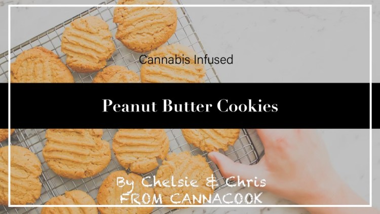 Cannabis Vegan Peanut Butter Cookies