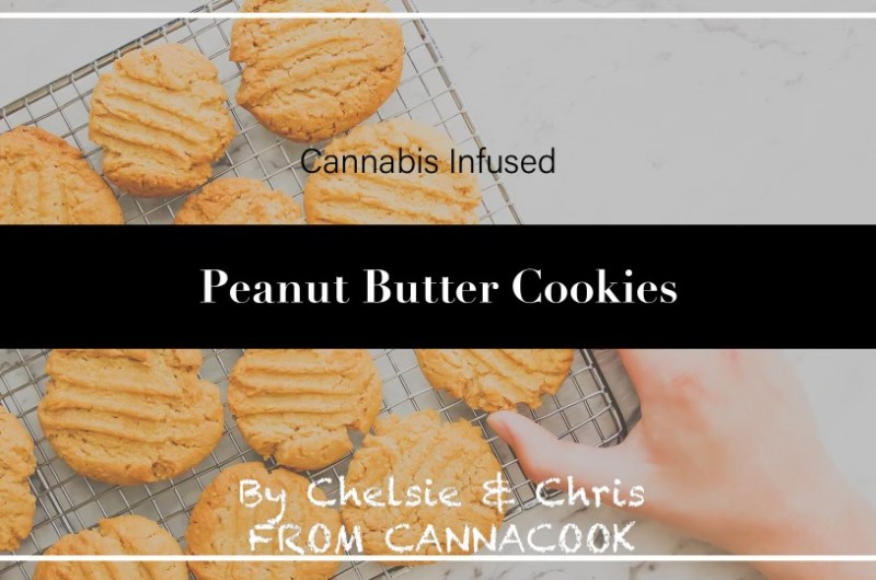 Vegan Cannabis Peanut Butter Cookies
