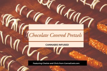 Cannabis Chocolate Pretzels