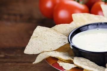 Cannabis White Cheese Dip