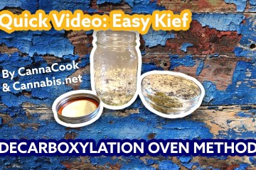 How To Decarboxylate Kief at home with an oven!