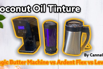 Infused Coconut Oil using Levo2 vs Ardent Flex vs Magic Butter Machine