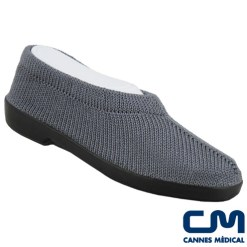 chaussure mailla grise