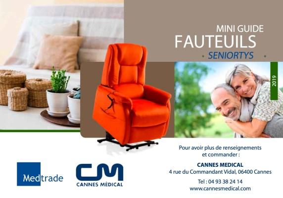couverture catalogue fauteuil releveur
