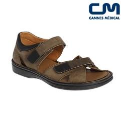 sandales ad2281 marron
