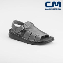 sandales texas noir