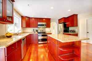 30 Sytlish Red Kitchen Ideas   Designs & Pictures