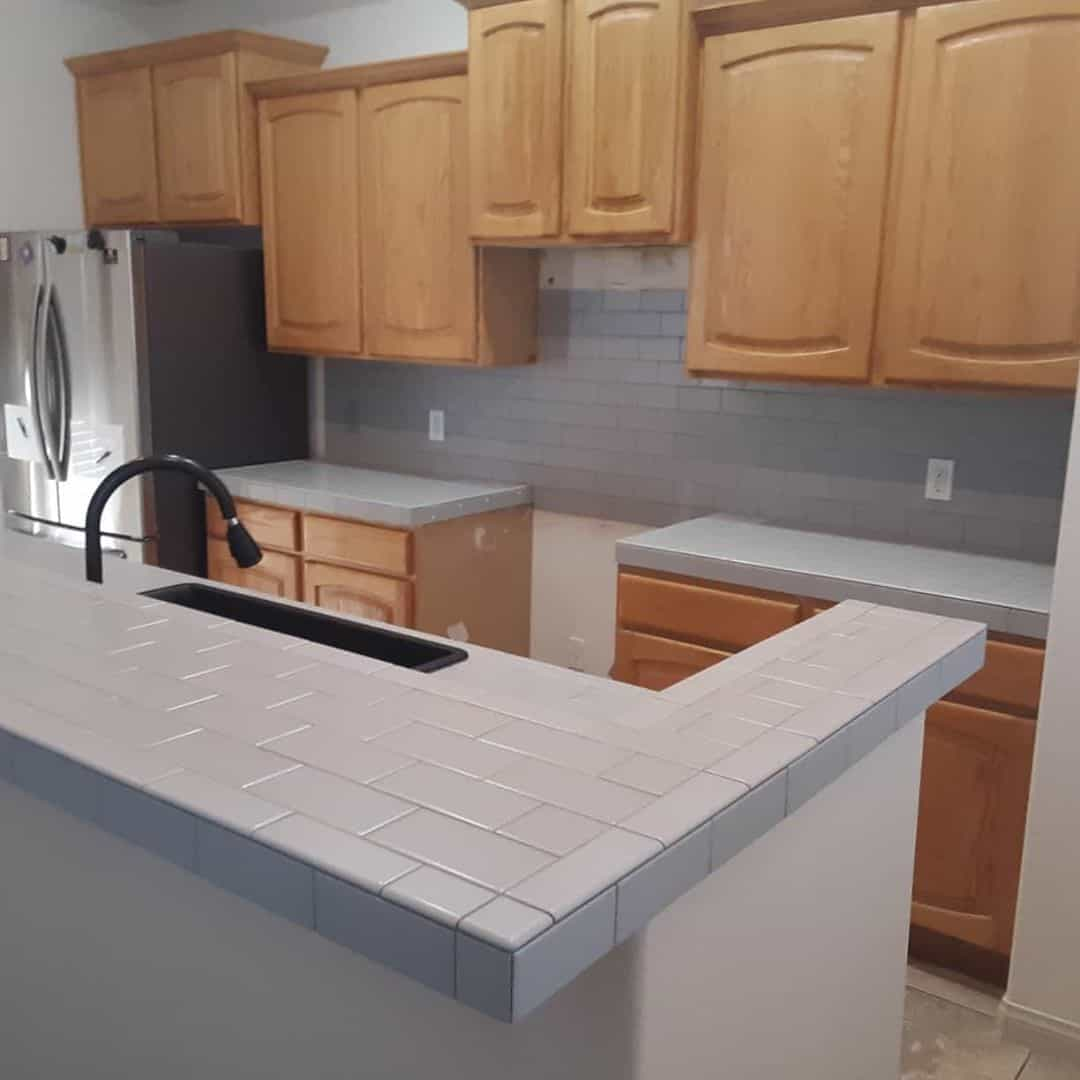 11 types of kitchen countertop materials