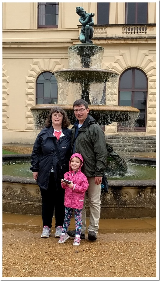 Wet Family at Osborne House