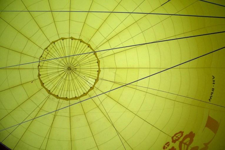 Inside the Love Balloon - VH-BPM
