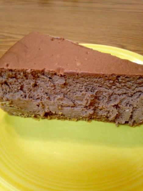 chocolate kahlua cheesecake 2
