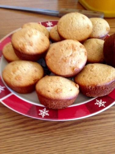 honey cinnamon cornbread muffins