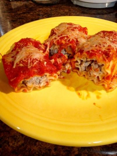 lasagna rolls baked
