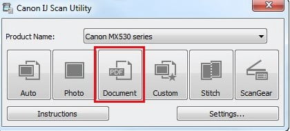 Download IJ Scan Utility Canon