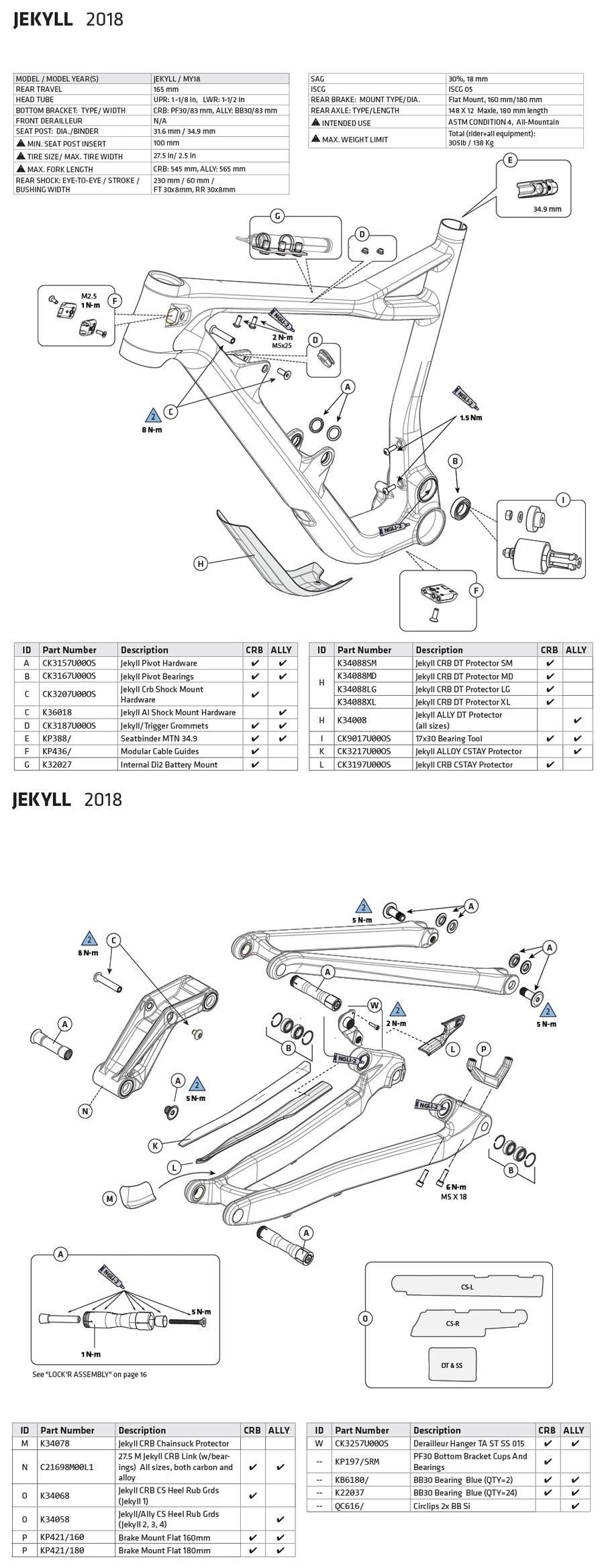 hight resolution of jekyll 2018 parts